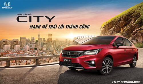 Honda Việt Nam chính thức ra mắt Honda City thế hệ thứ 5 - Mạnh mẽ trải lối thành công